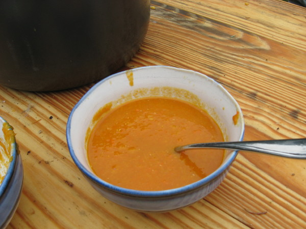 Carrot Ginger Lentil Soup